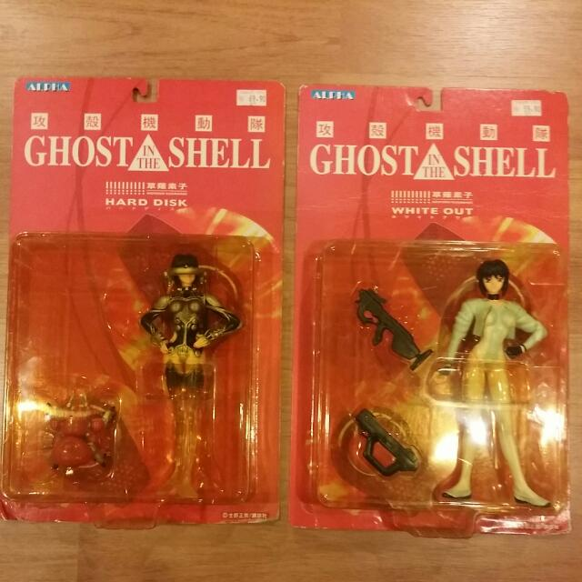 👍Cheap - Alpha Ghost In A Shell Lot Of 2 Figures White Out And Hard DISK MISB NEW - Not Banpresto Bandai Figma Nendoroid Anime Manga