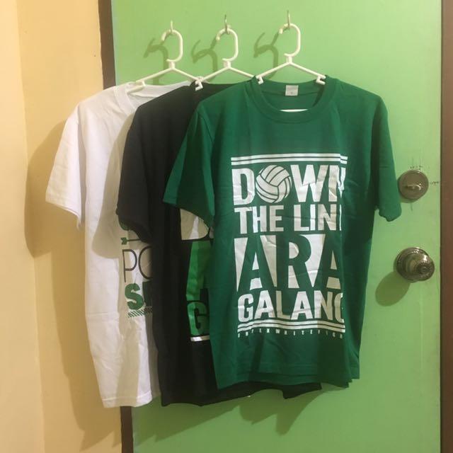 Ara Galang DLSU Shirts