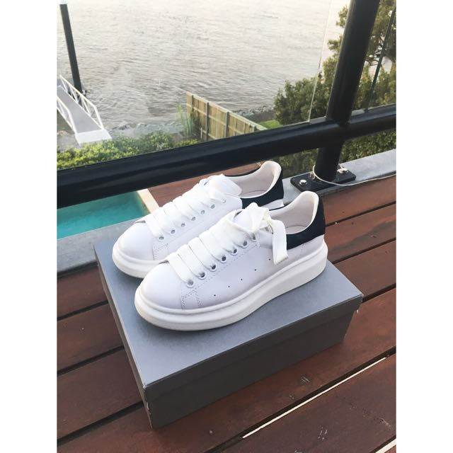 Authentic Alexander MQueen White Shoes