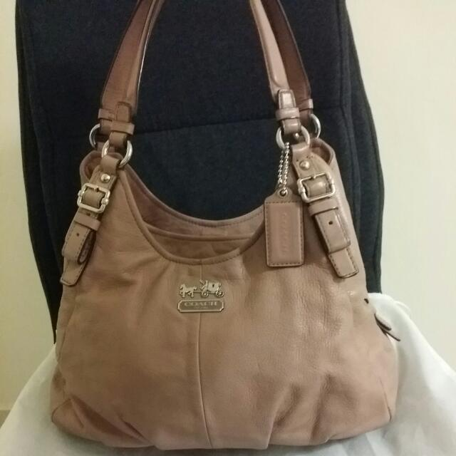 💯Authentic Coach Madison Leather Maggie Shoulder Bag (Pre-loved)