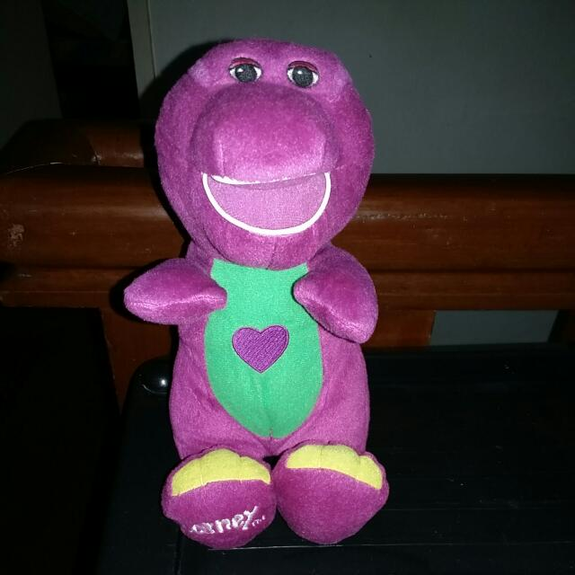Authentic FISHER PRICE BARNEY Singing Toy