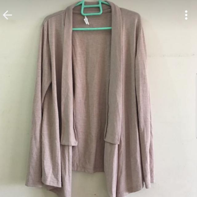 Authentic Forever 21 LIGHT Brown CARDIGAN