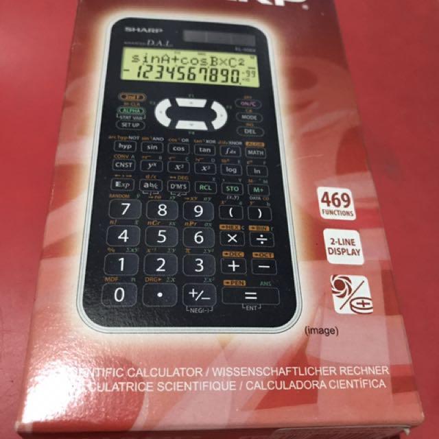 Authentic Sharp Scientific Calculator