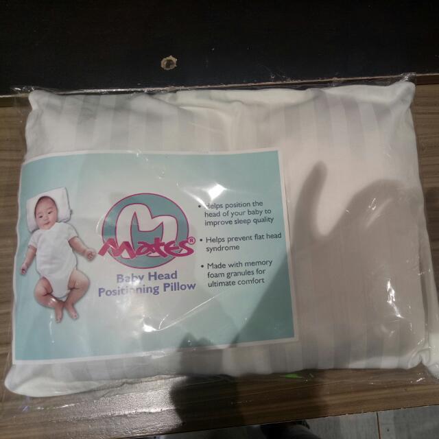 Baby Head Memory Foam Pillow