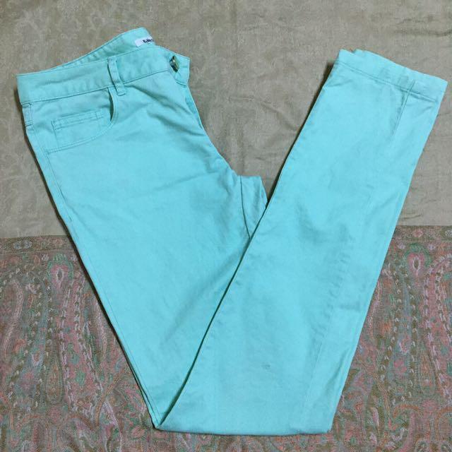 Baleno Mint Green Pants