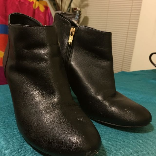 Basque ankle boots
