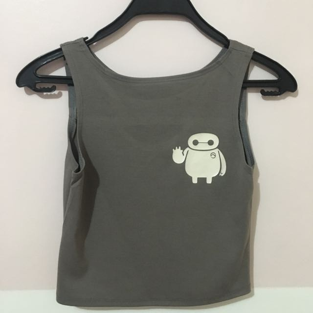 Baymax Cropped Top