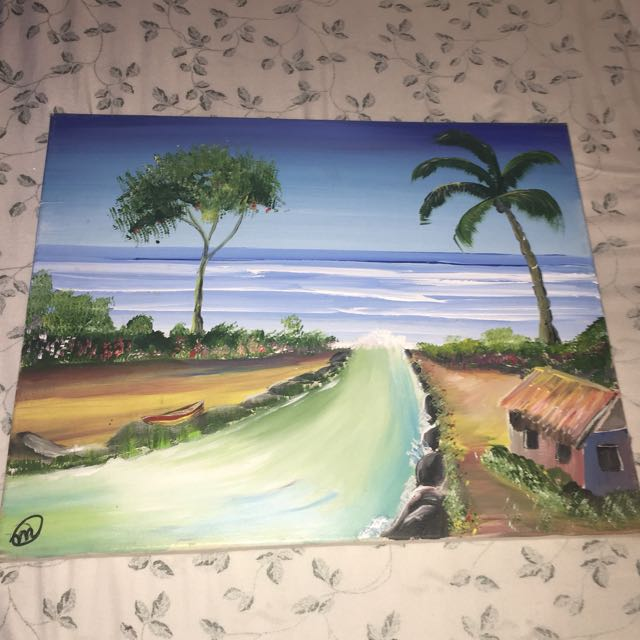 Beautiful Island Painting
