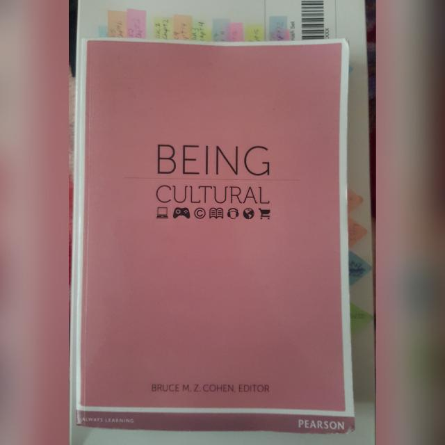 BEING CULTURAL SOCIOLOGY 105 BOOK