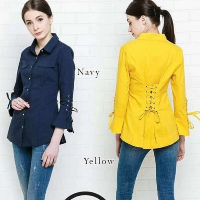 Blus Import (Navy Blue Only)