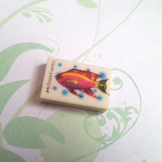 BN Faber Castell 1pc Fish Eraser