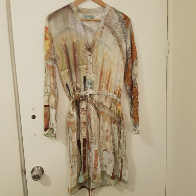Boho Shift Dress