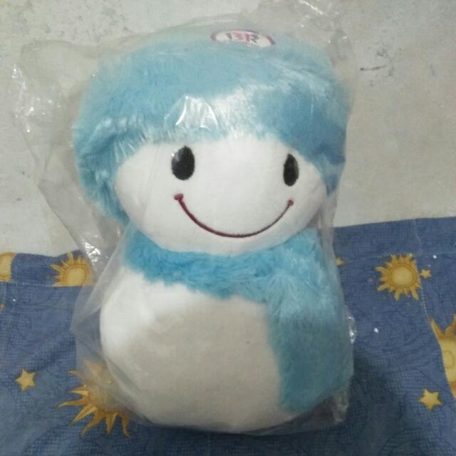 Boneka Snowman Baskinrobbins