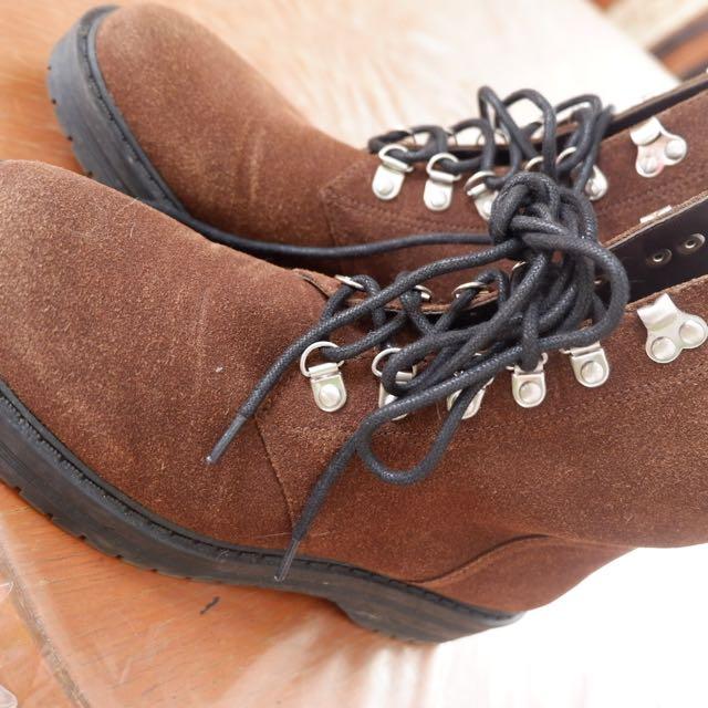 Boyish Boots Charles & Keith