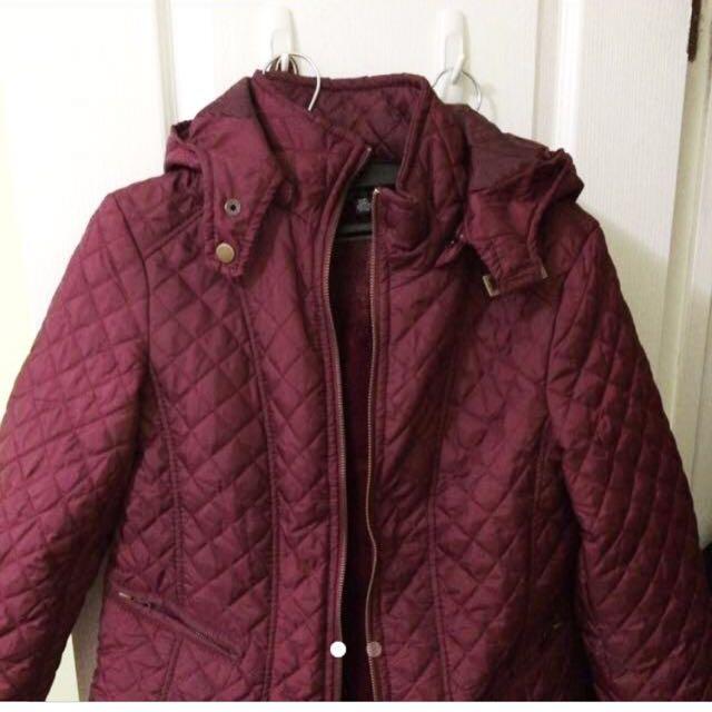 Burgundy Fall Jacket (S)