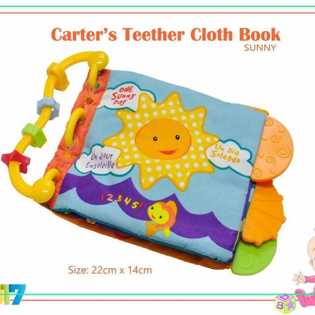 Carter's Teether Cloth Book