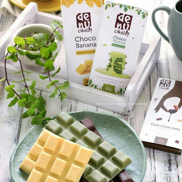 Choco Bar (Chocolate - Banana - Greentea)