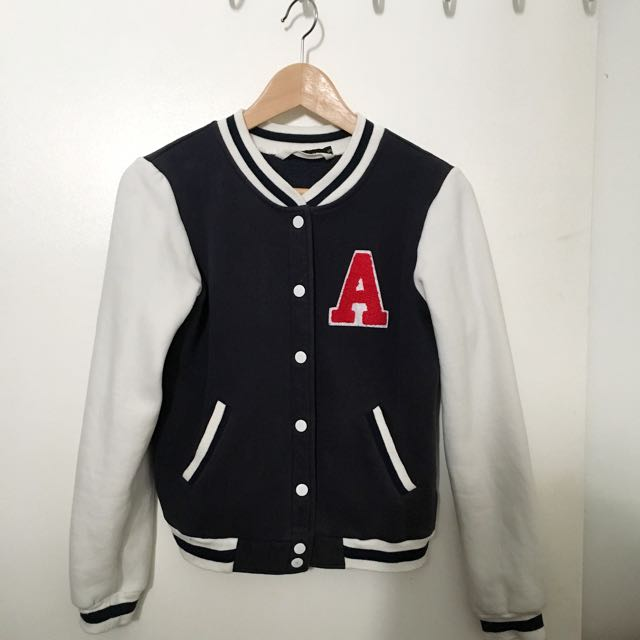 City Beach Used Brand Varsity Jacket