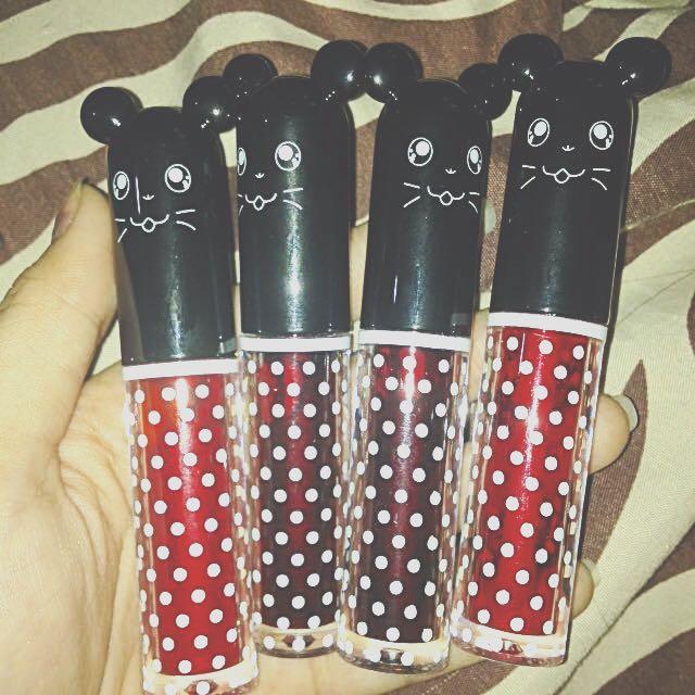 Mickey Mouse Liptints