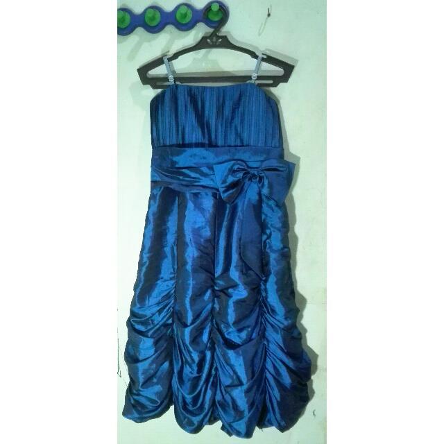 Dark Blue Cocktail Dress