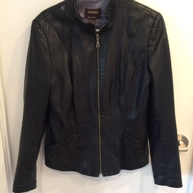 Denier Leather Jacket (small)