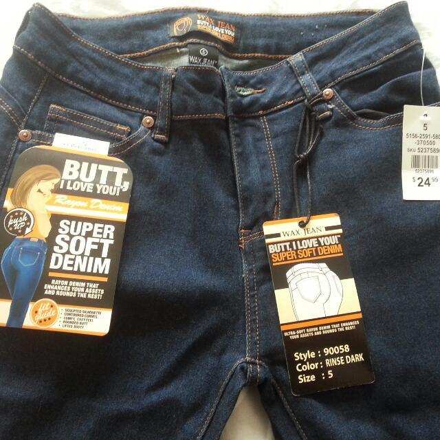 Denim Ripped Pants - Butt Shape Enhancing