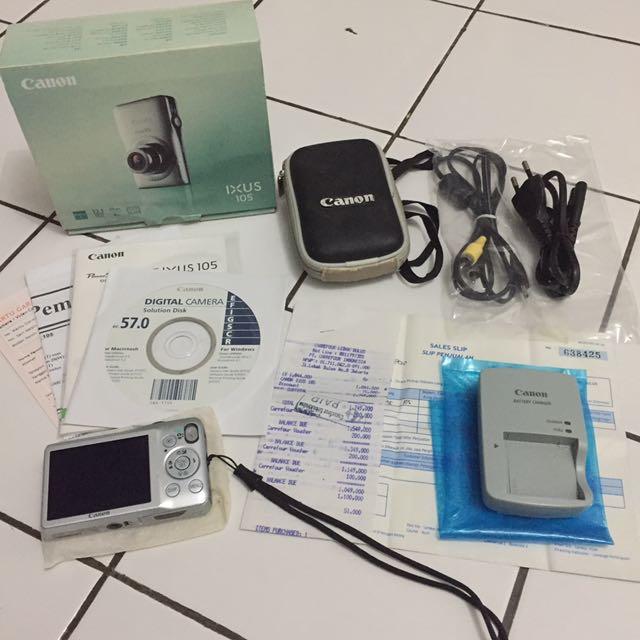 Digital Camera Ixus 105