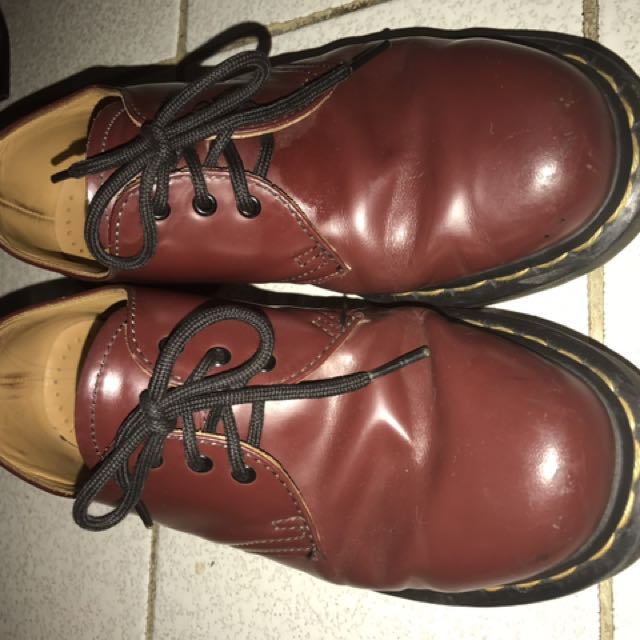 Dr. Martens / Docmart Red Cherry UNISEX cewe/ cowo 38