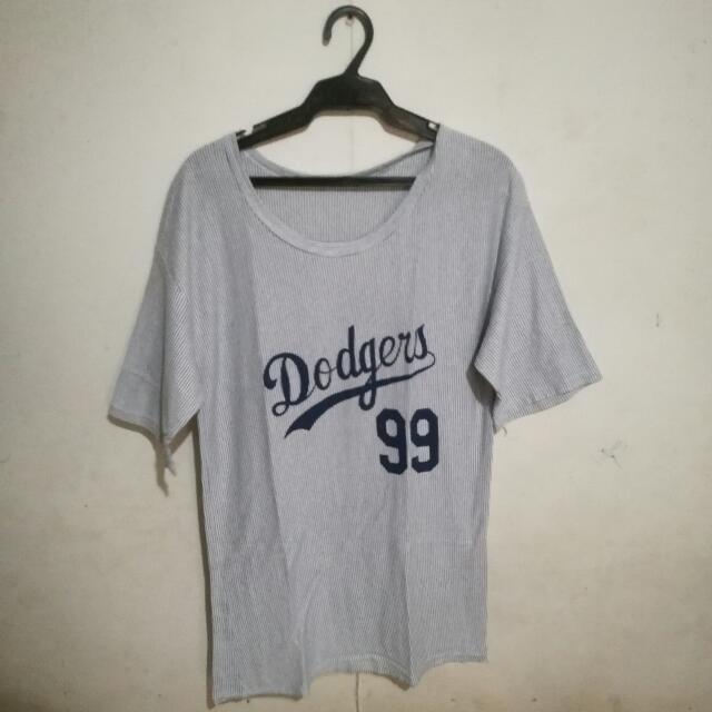 Dodgers Shirt Dress