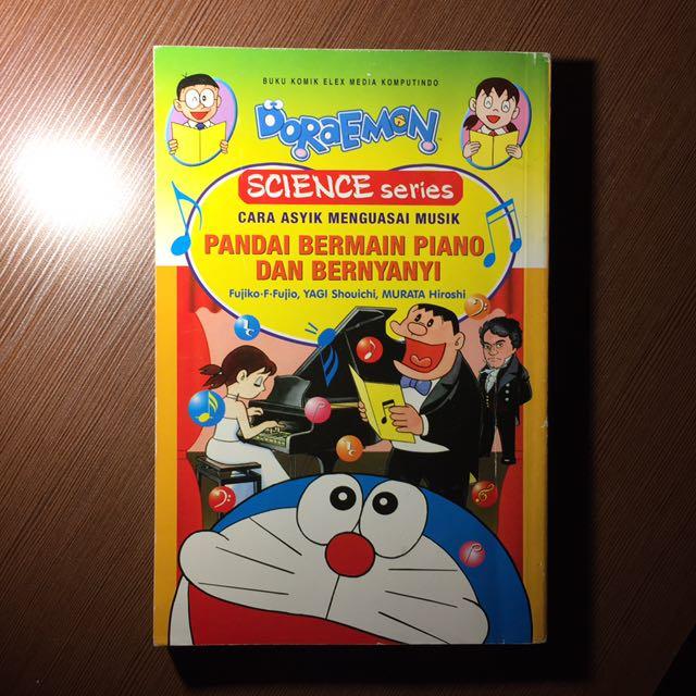 Doraemon Science Series ( Pandai Bermain Piano dan Bernyanyi ) ( Buku Anak )