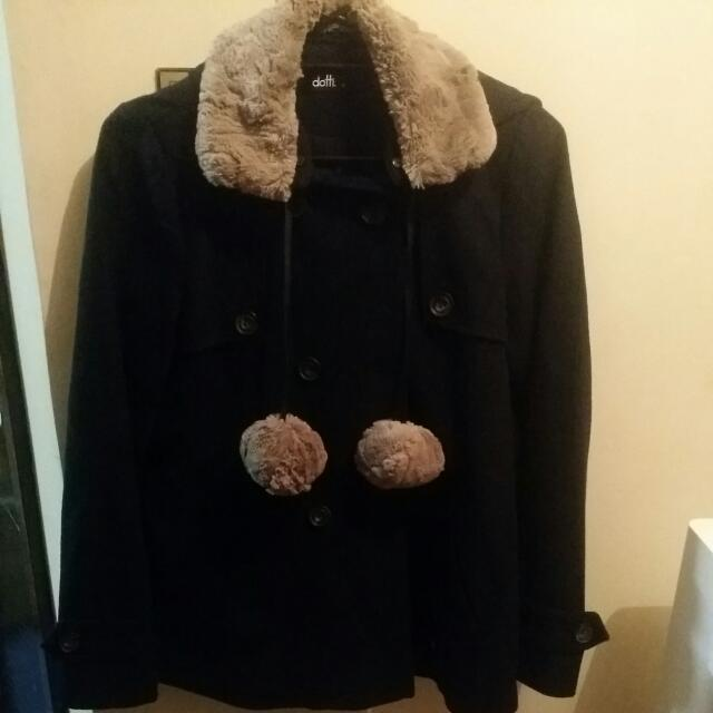 Dotti Jacket Size 10 With Hoodie