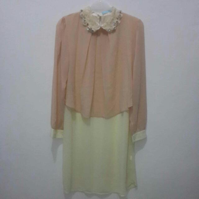 [DRESS] Cream Dress
