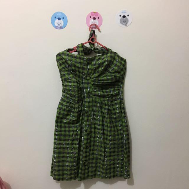 Dress Kotak