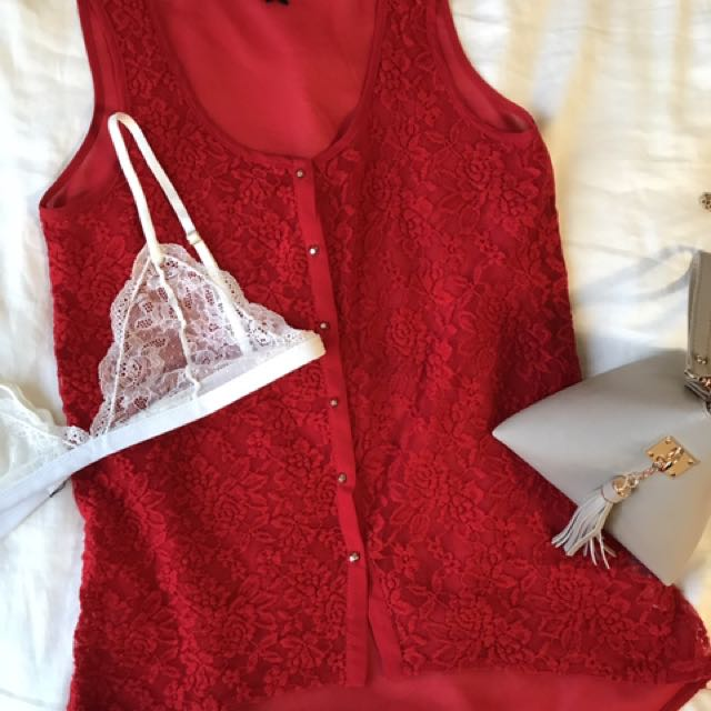 Dynamite S Lace Top
