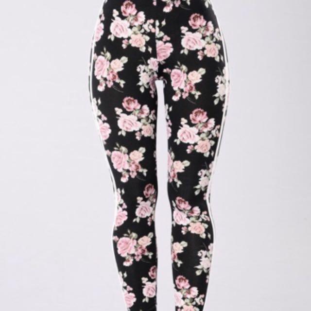 Fashion Nova 'Give Me Roses' Pants XL