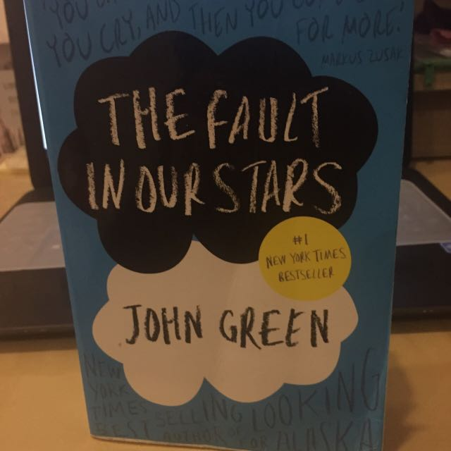 Fault In Our stars Book By John Green