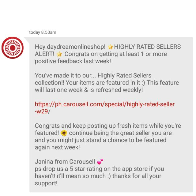 Featured For The 7th Time. Thank You Carousell ♡