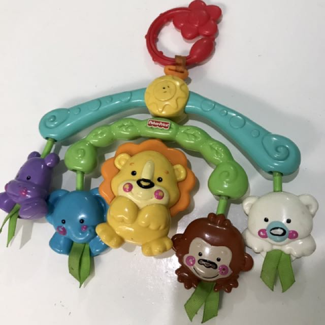 FISHER PRICE TOY FOR CRIB OR STROLLER