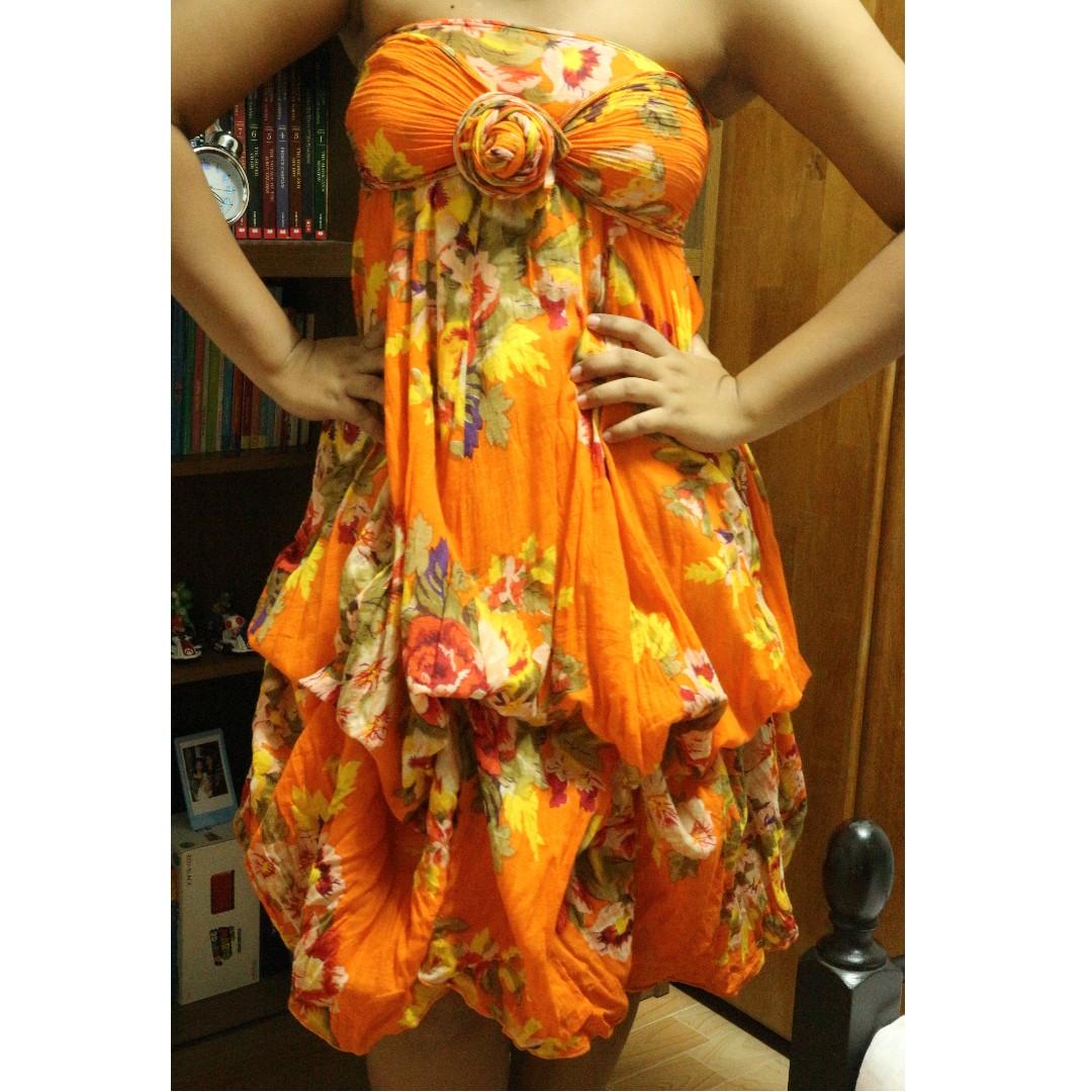 SALE!! Floral Infinity Dress