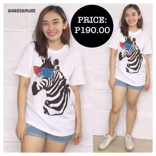 For Men_The Real Deal White Zebra Shirt