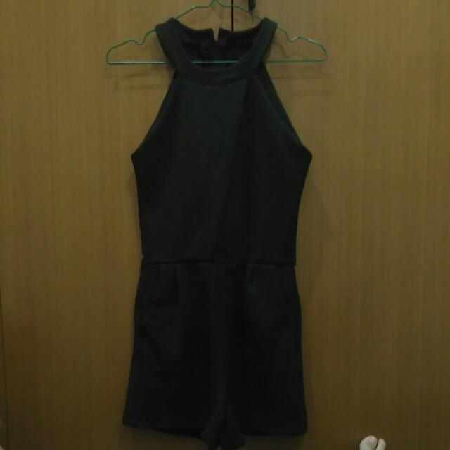 Free Ongkir Jumpsuit Black BKK