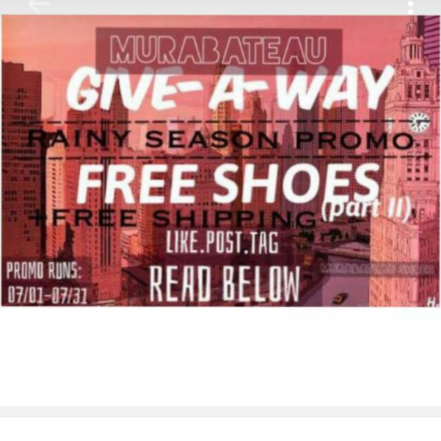 Free Shoes!