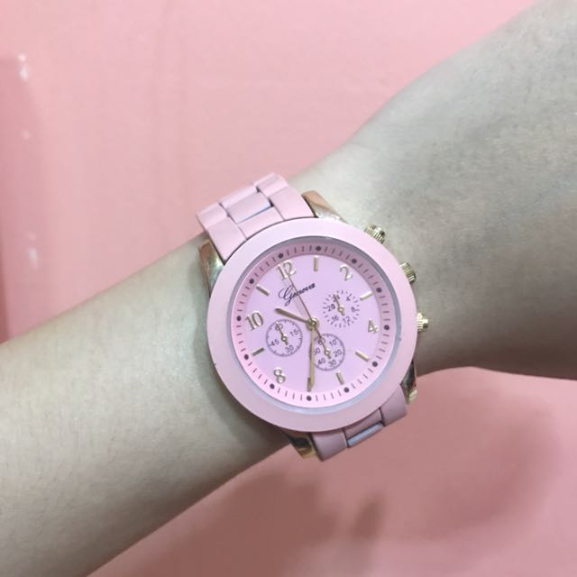 Geneva Watch Pink