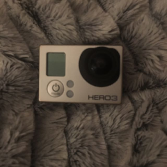GoPro Hero 3 Silver With Screen