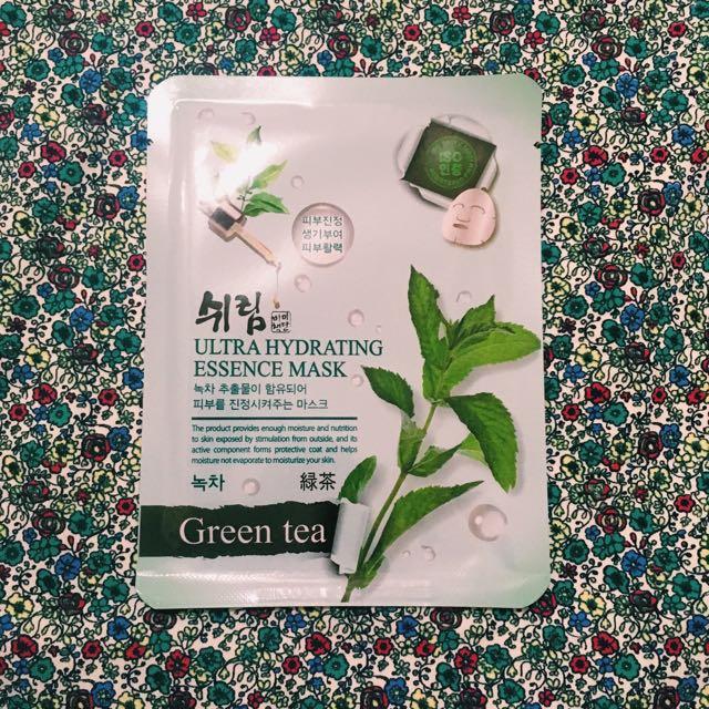 Green Tea Shelim Face Mask