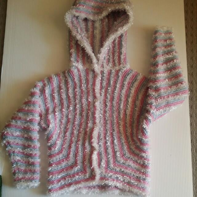Hand Knitted Hoodie