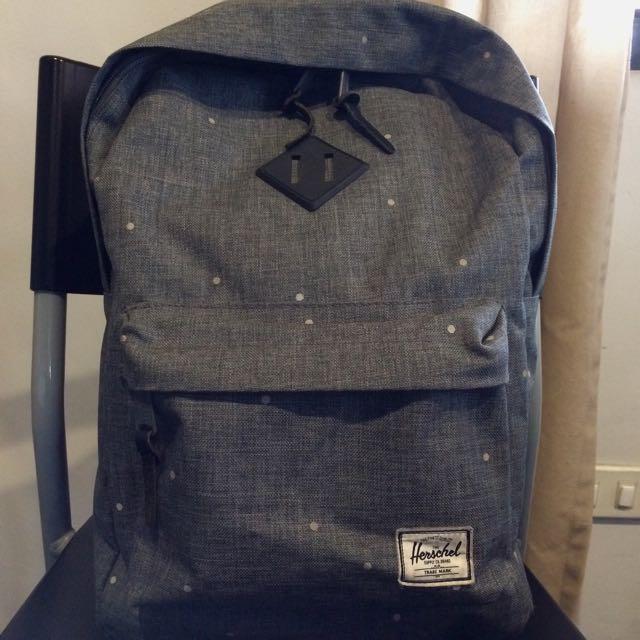 Herschel Supply Heritage Polka Dot Crosshatch 20L Backpack