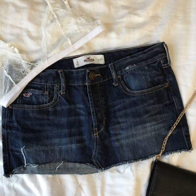 Hollister Jean Skirt Size 5