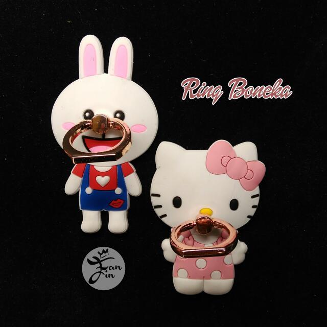 I Ring Stand Karakter Hello Kitty Cony Line