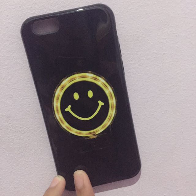 Imported Black Smile Iphone 6 Case